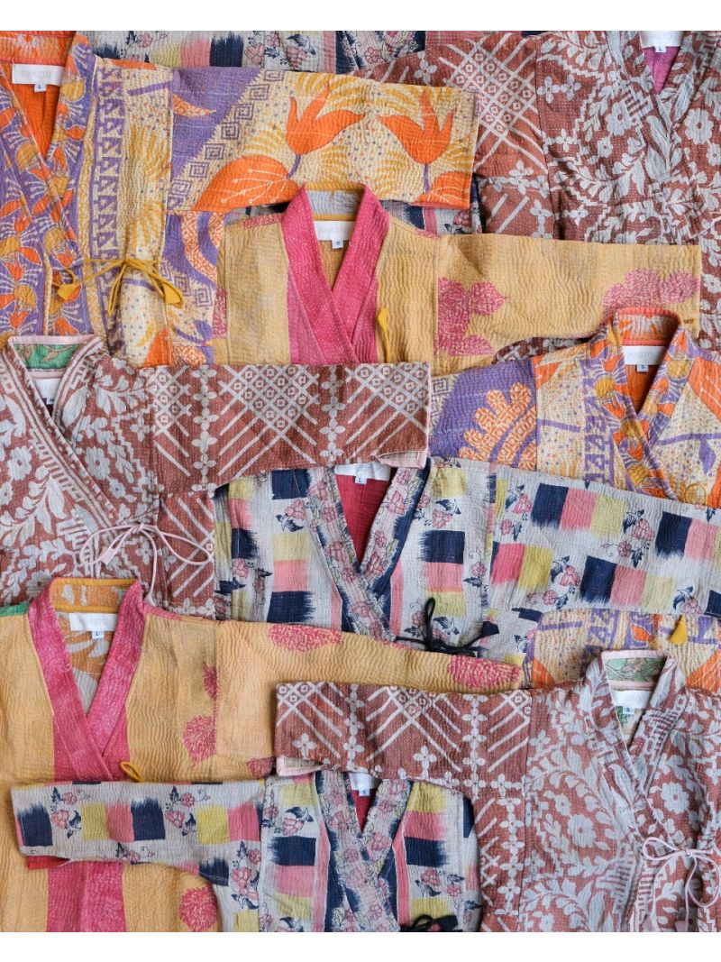 Kantha kids coat