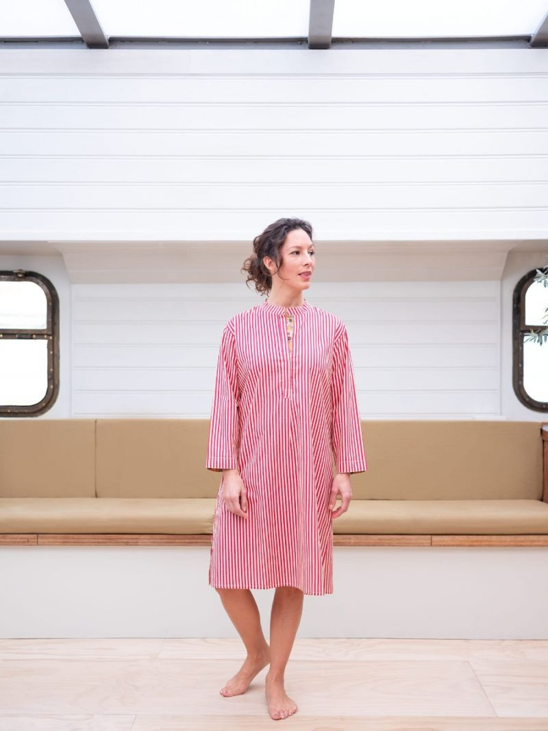 Women's nightshirt made of 100% organic cotton – Seasonal Collection
