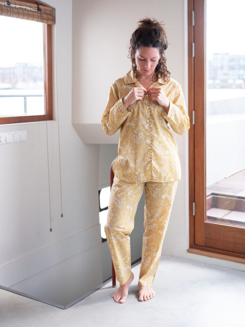 Women's pajamas made of 100% organic cotton – Seasonal Collection
