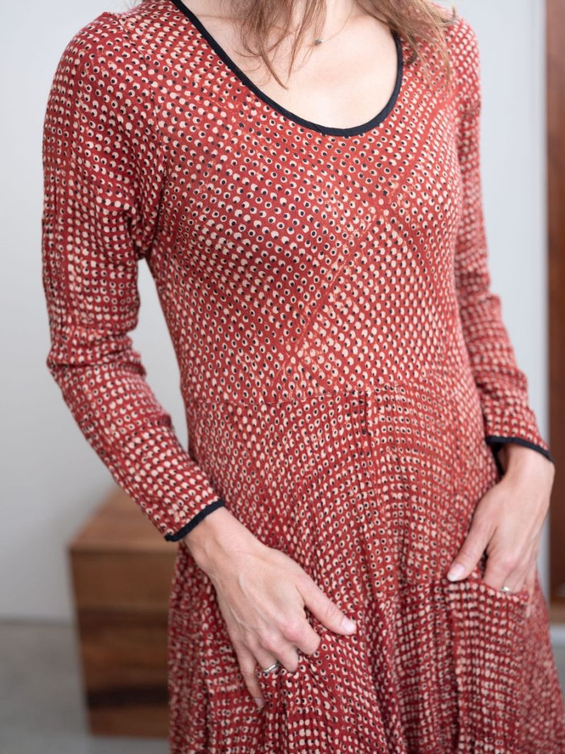 Crinkle dress for women – Seasonal Collection