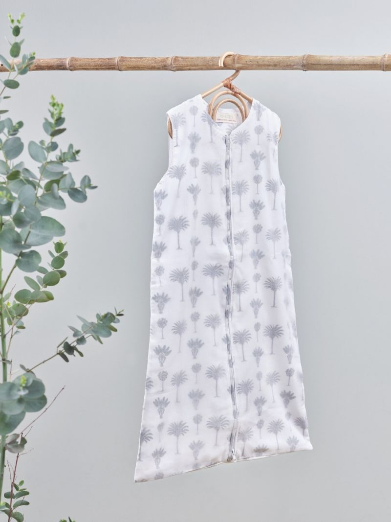Baby sleeping bag - Small Palm (Organic Cotton)