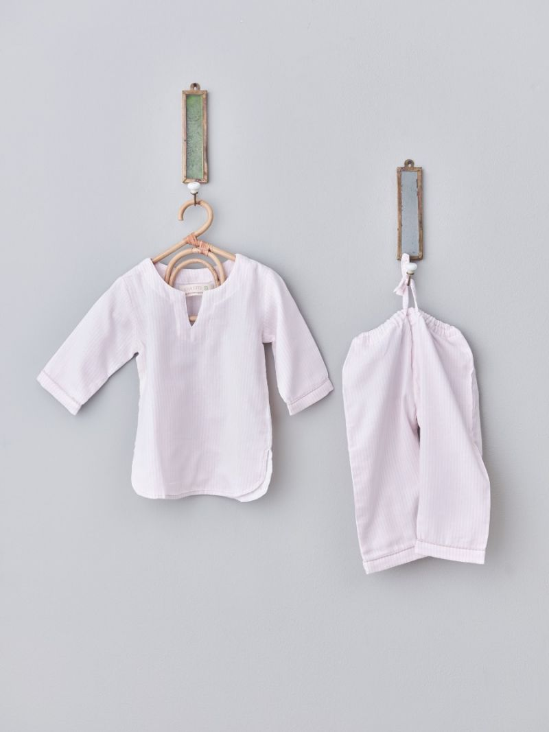 Kids pajamas unisex - Pink stripes