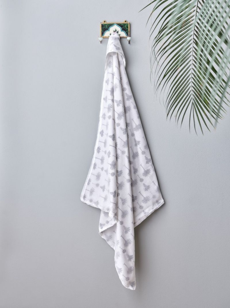 Baby Wrap Blanket - Small Palm (Organic Cotton)