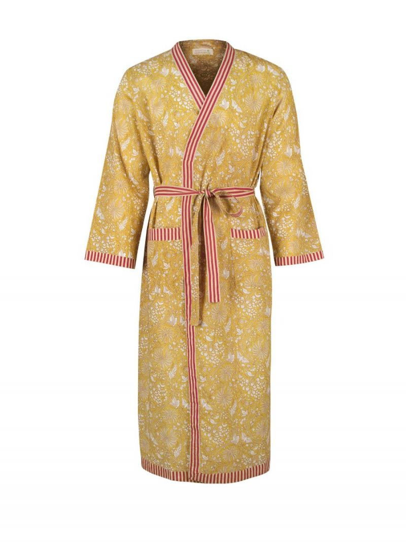 Men's dressing gown made of 100% organic cotton – Seasonal Collection