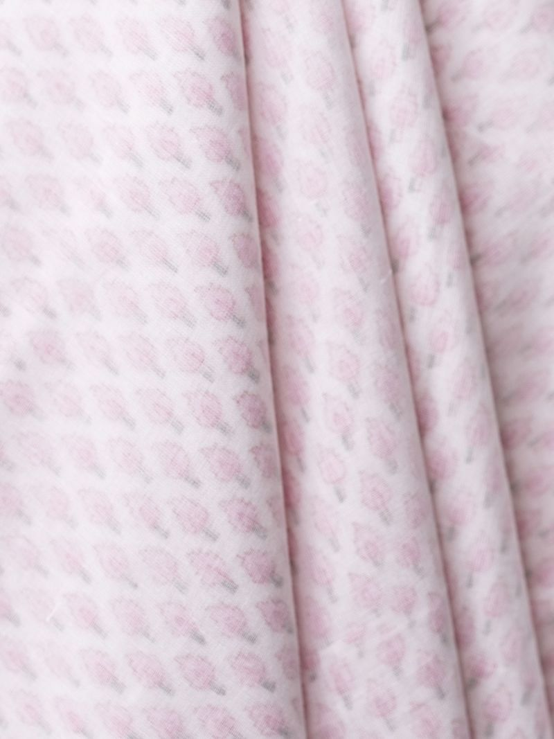 Baby Wrap Blanket - Pink Candle (Organic Cotton)