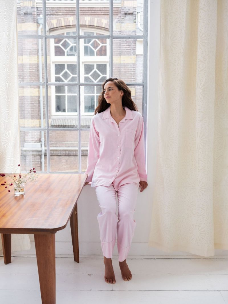 Pyjamas Pink - Organic Cotton