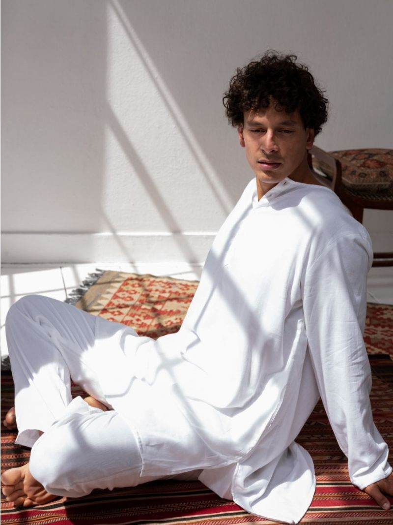 Yoga, Meditation & Lounge Suit - White