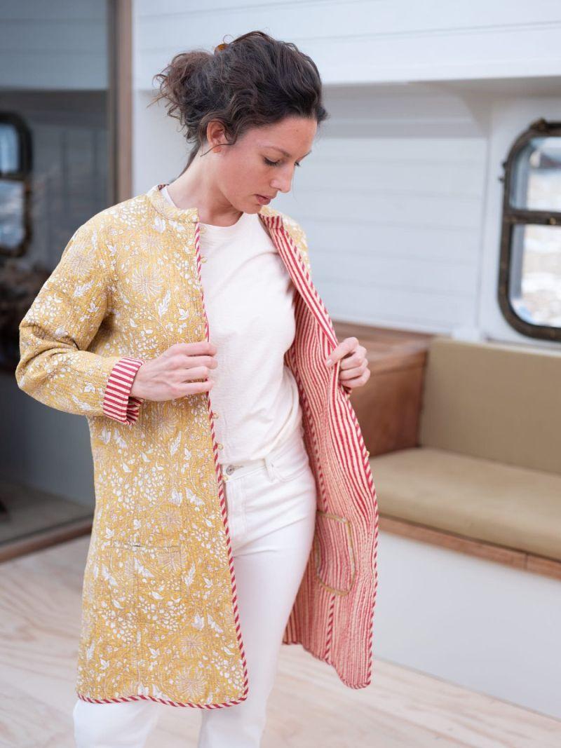 Long coat quilt – Seasonal Collection
