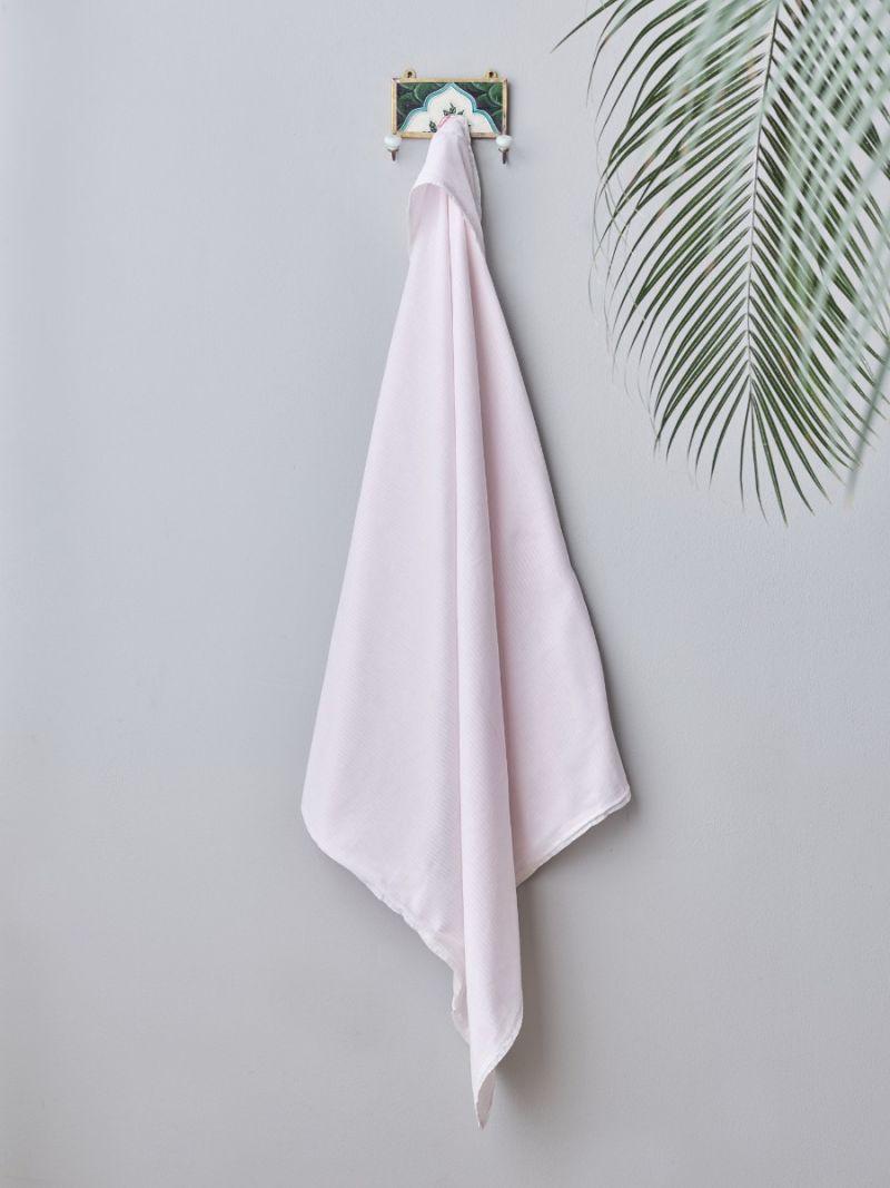 Baby Omslagdoek - Roze Strepen