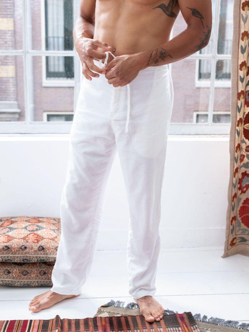 Lounge Pants - Wit