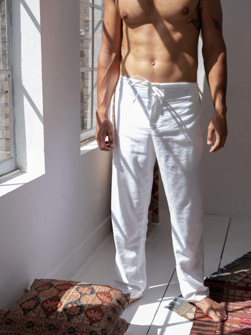 Men's Lounge Pants - Cotton Cashmere