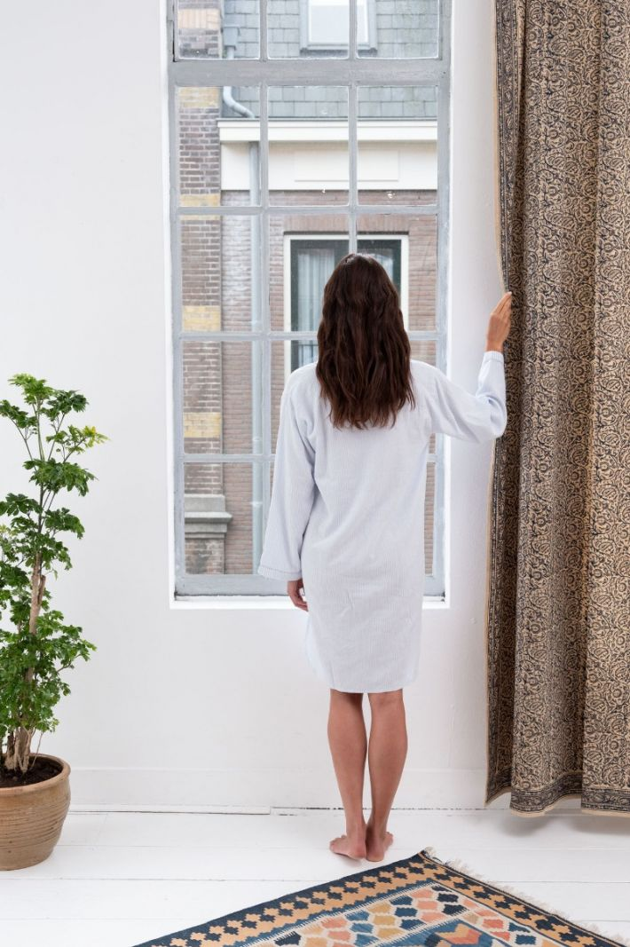 Women's Night Shirt - Cotton Cashmere