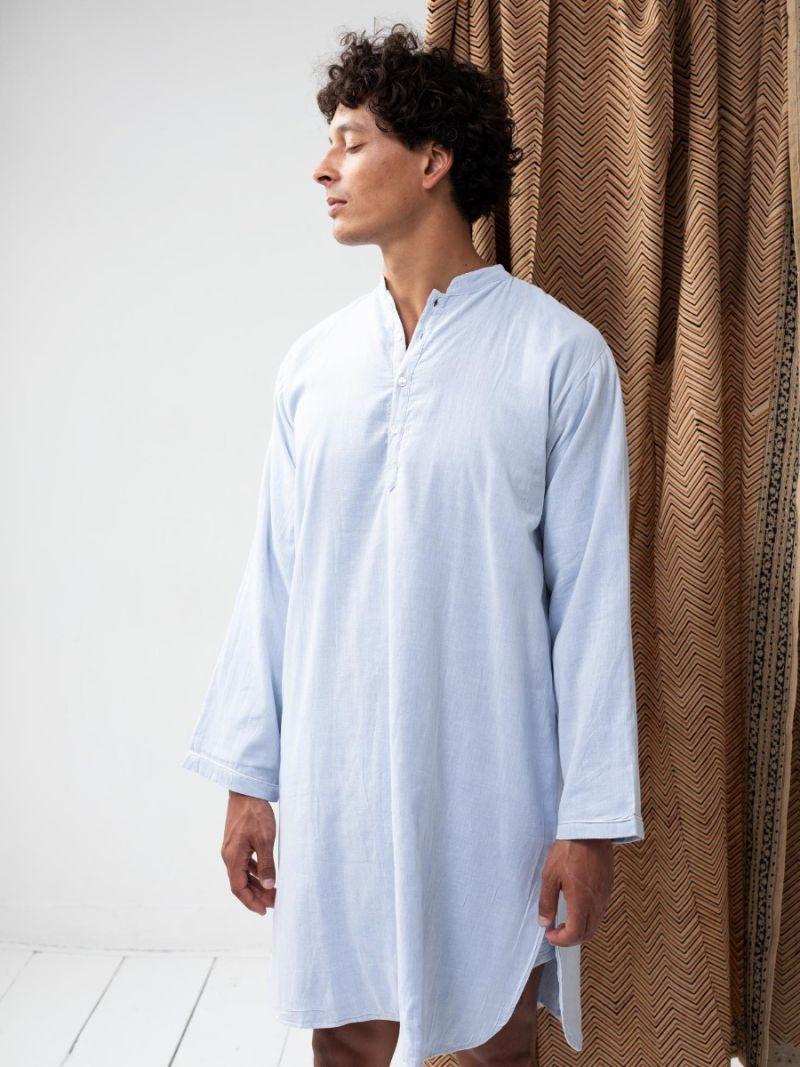 Chemise de nuit - Bleu