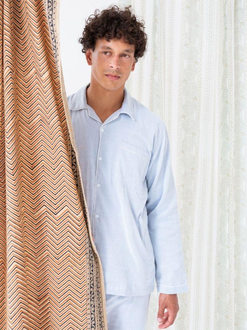 Men's Pyjama - Cotton Cashmere
